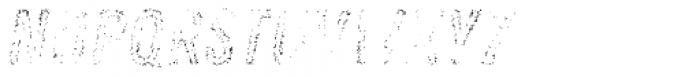 Zing Rust Grunge1 Fill2 Font LOWERCASE