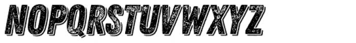 Zing Rust Grunge2 Base Shadow1 Font LOWERCASE
