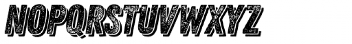 Zing Rust Grunge2 Base Shadow2 Font LOWERCASE