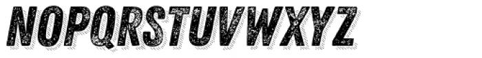 Zing Rust Grunge2 Base Shadow5 Font UPPERCASE