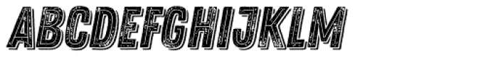 Zing Rust Grunge2 Base2 Line Shadow1 Font LOWERCASE