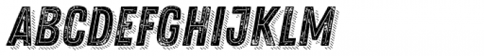 Zing Rust Grunge2 Base2 Line Shadow4 Font LOWERCASE