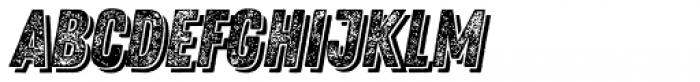 Zing Rust Grunge3 Base Shadow2 Font UPPERCASE