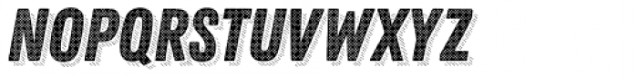 Zing Rust Halftone A1 Base Shadow5 Font LOWERCASE