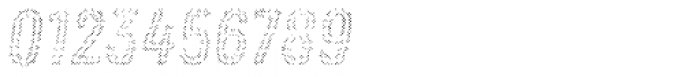 Zing Rust Halftone A1 Fill2 Font OTHER CHARS