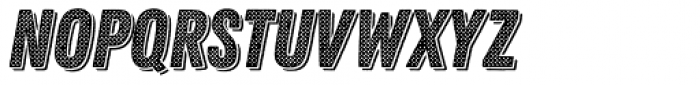 Zing Rust Halftone A2 Base Shadow1 Font LOWERCASE