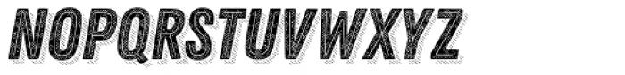 Zing Rust Halftone B1 Base2 Line Shadow5 Font LOWERCASE