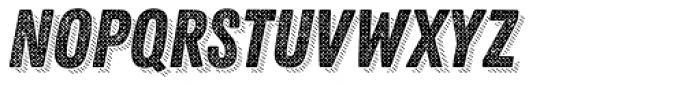 Zing Rust Halftone B2 Base Shadow4 Font UPPERCASE