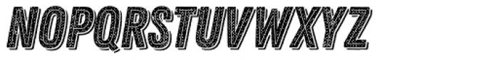 Zing Rust Halftone B2 Base2 Line Shadow1 Font UPPERCASE