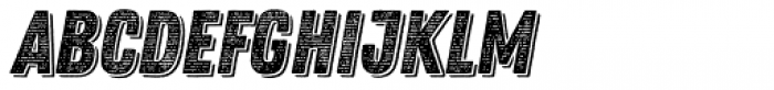 Zing Rust Line Horizontals1 Base Shadow1 Font UPPERCASE