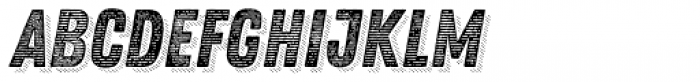 Zing Rust Line Horizontals2 Base Shadow5 Font LOWERCASE