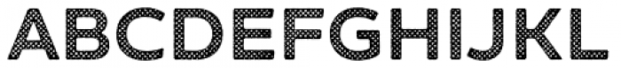 Zing Sans Rust Bold Base Halftone A Font UPPERCASE