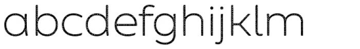 Zing Sans Rust Light Base Halftone A Font LOWERCASE