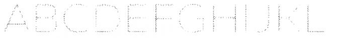 Zing Sans Rust Light Fill Halftone A Font UPPERCASE