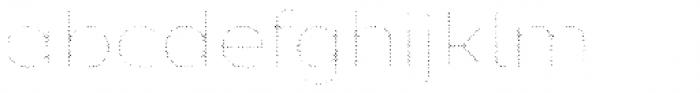 Zing Sans Rust Light Fill Halftone A Font LOWERCASE