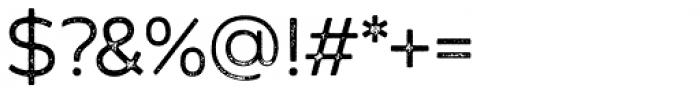 Zing Sans Rust Regular Base Grunge Font OTHER CHARS