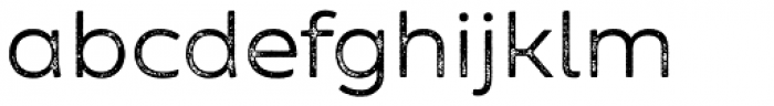 Zing Sans Rust Regular Base Grunge Font LOWERCASE