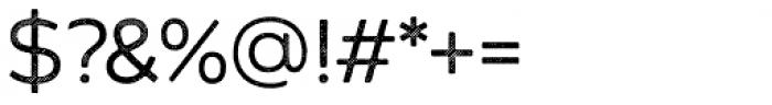 Zing Sans Rust Regular Base Line Diagonals Font OTHER CHARS