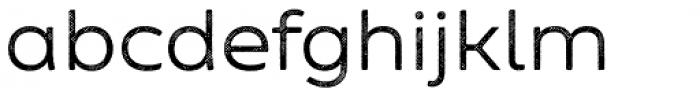 Zing Sans Rust Regular Base Line Diagonals Font LOWERCASE
