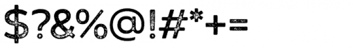 Zing Sans Rust Semibold Base Grunge Font OTHER CHARS