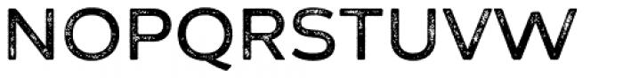 Zing Sans Rust Semibold Base Grunge Font UPPERCASE