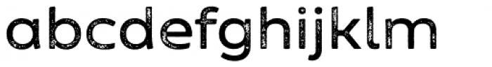 Zing Sans Rust Semibold Base Grunge Font LOWERCASE
