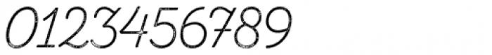 Zing Script Rust Light Base Grunge Font OTHER CHARS