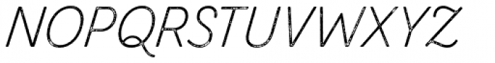 Zing Script Rust Light Base Grunge Font UPPERCASE