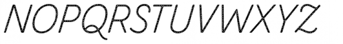 Zing Script Rust Light Base Halftone A Font UPPERCASE
