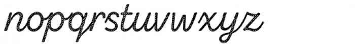 Zing Script Rust Regular Base Halftone A Font LOWERCASE