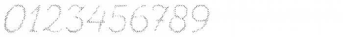 Zing Script Rust Regular Fill Halftone A Font OTHER CHARS