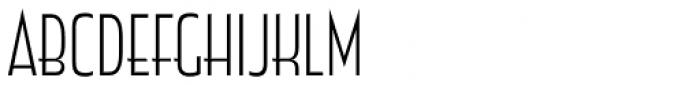 Zingende Light Font UPPERCASE
