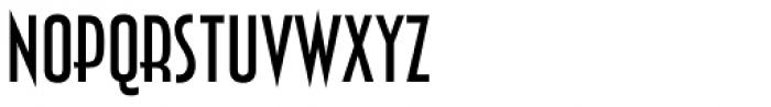 Zingende Regular Font UPPERCASE