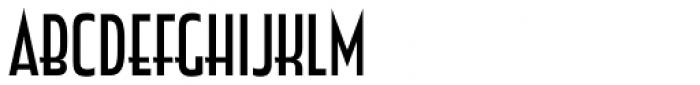 Zingende Regular Font LOWERCASE