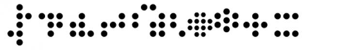 Zink Dot Font OTHER CHARS