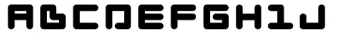 Zink Font UPPERCASE