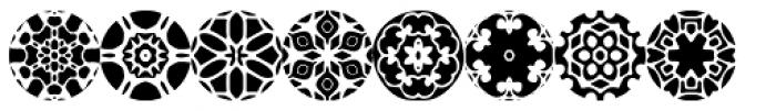 Zinnias Font UPPERCASE