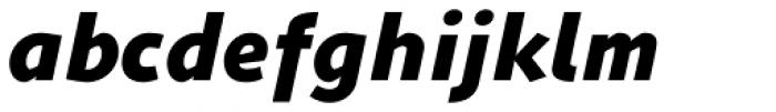 ZionTrain Black Italic Font LOWERCASE