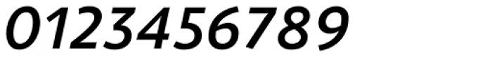 ZionTrain Cyrillic DemiBold Italic Font OTHER CHARS