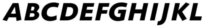 ZionTrain SCOSF Black Italic Font UPPERCASE