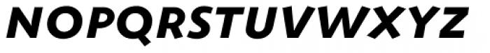ZionTrain SCOSF Bold Italic Font LOWERCASE