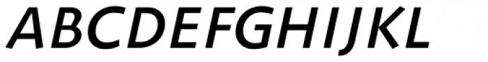 ZionTrain SCOSF DemiBold Italic Font UPPERCASE