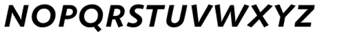 ZionTrain SCOSF DemiBold Italic Font LOWERCASE