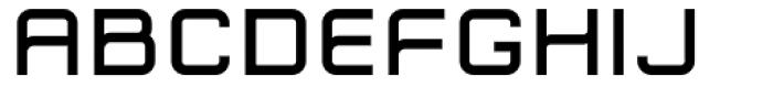 Zip Typeface Demi Bold Font LOWERCASE