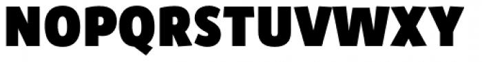 Zipolite Fat Font UPPERCASE