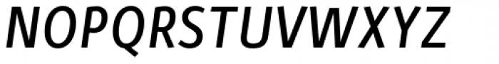 Zipolite Medium Italic Font UPPERCASE