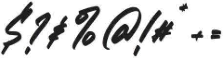 ZlatoustChaosRegular otf (400) Font OTHER CHARS