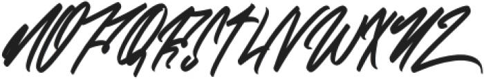 ZlatoustChaosRegular otf (400) Font UPPERCASE