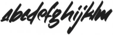 ZlatoustChaosRegular otf (400) Font LOWERCASE