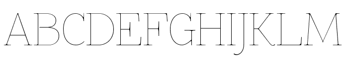 ZnikomitSC Font UPPERCASE